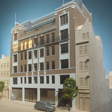 This is the 4th image from the london marylebone project.